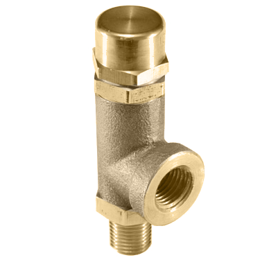 103H Side Relief Outlet Valve, Soft Seat