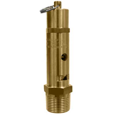 118CSS ASME Code High Flow Brass Safety Valve with Stainless Steel Ball