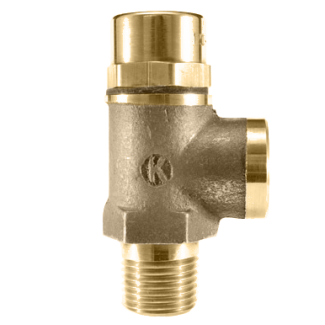 120 Side Outlet Safety Relief Valve