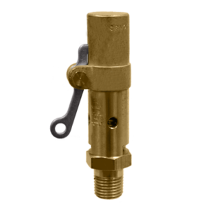 Brass Body And Trim 1 Inlet X 1 Outlet ASME Section Viii Air//Gas Open Lever 100 Psi 1 Inlet X 1 Outlet D Orifice Kingston Valves 710D66S1K1-100 Model 710 Safety Valve Silicone Disc