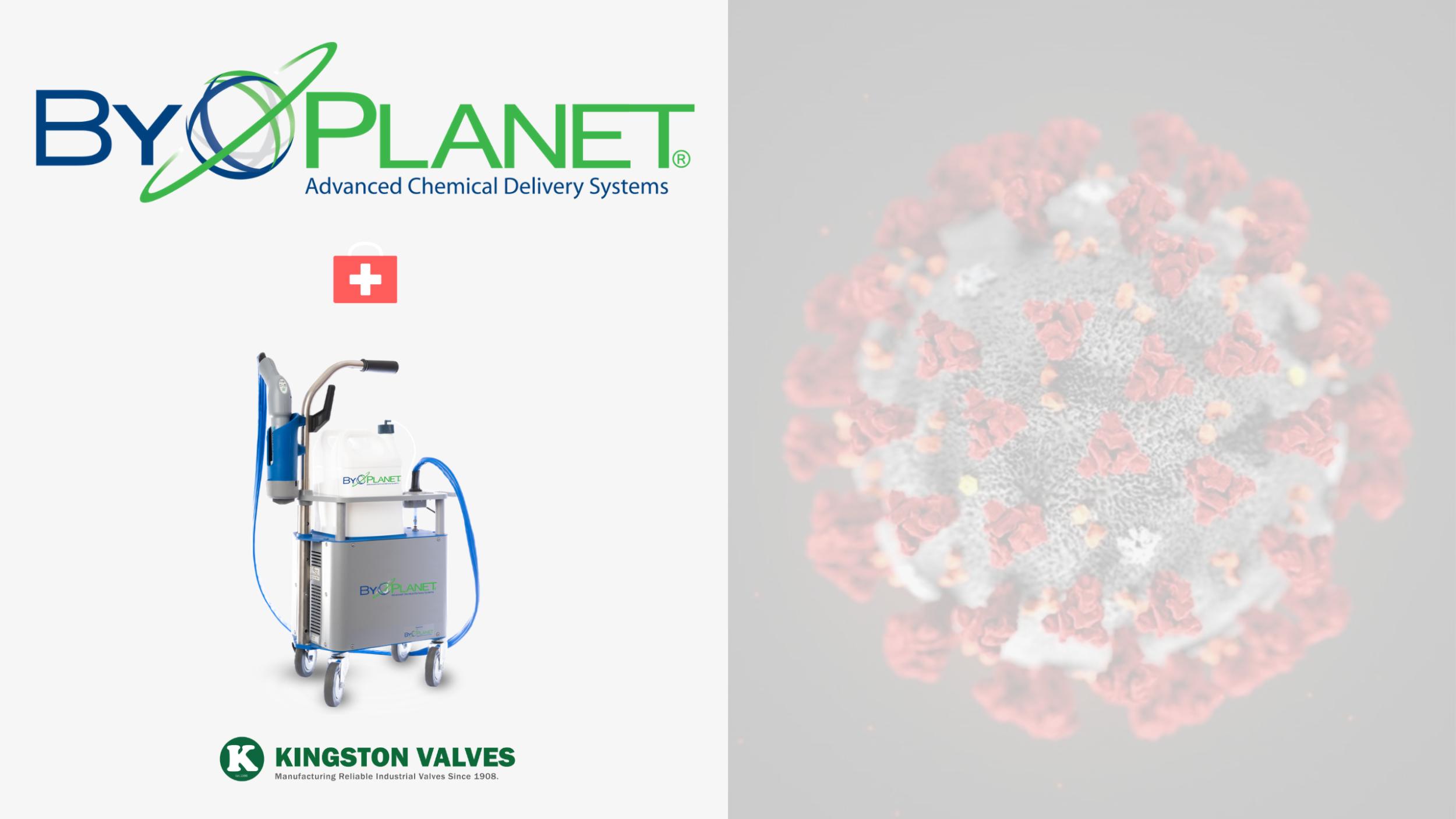 ByoPlanet Kingston Valves Coronavirus