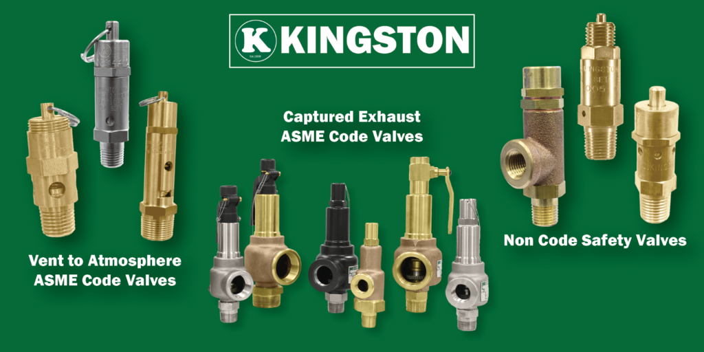 Kingston Safety Valves Collection