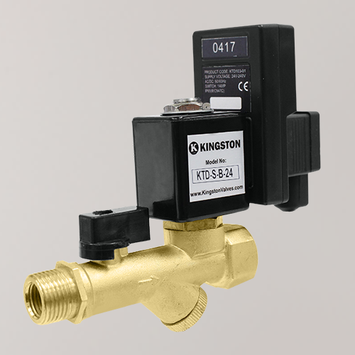 KTD-S-B-24 Timer Drain Valve with Strainer