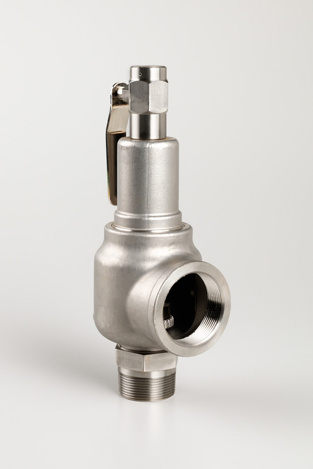 KNG Safety Relief Valve 743 Packed Lever